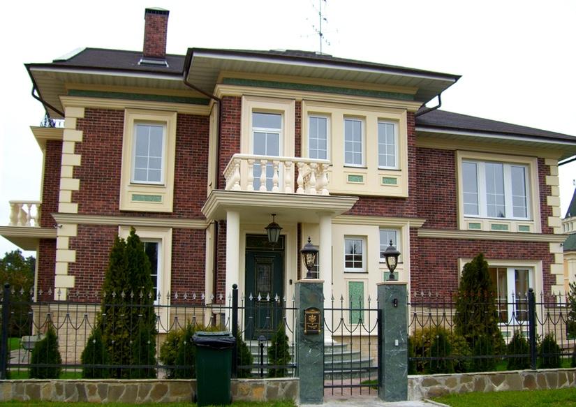 Применение клинкерной плитки для фасадов