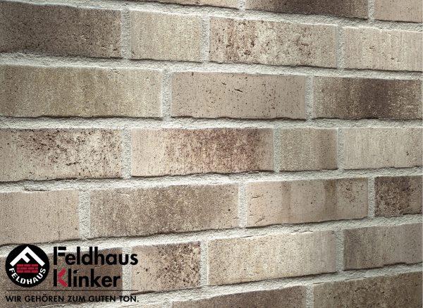 Клинкерные термопанели Feldhaus Klinker R773 vascu argo antrablanca