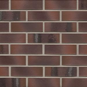Клинкерные термопанели Feldhaus Klinker 561 carbona carmesi maritimo