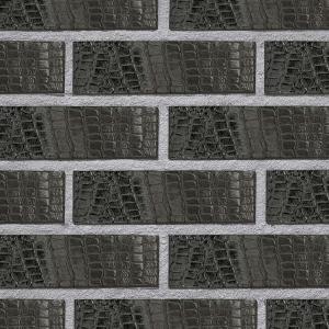 Roben Kroko schwarz-nuanciert (Крокодиловая кожа)