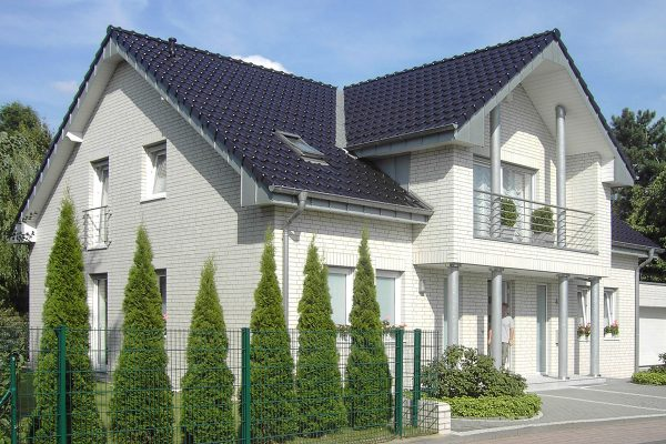 Roben Oslo perlweiss glatt (Белый перламутровый) гладкая 9мм