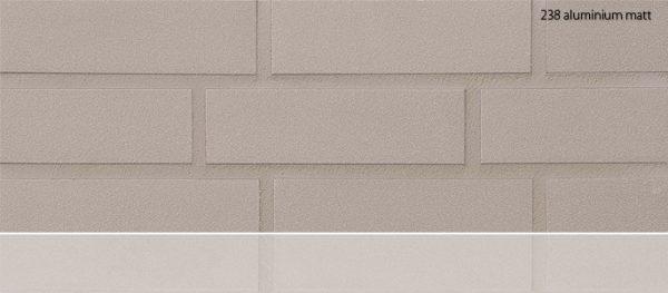 Клинкерные термопанели Stroeher 238 aluminium matt