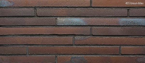 Клинкерные термопанели Stroeher 455 braun-blau