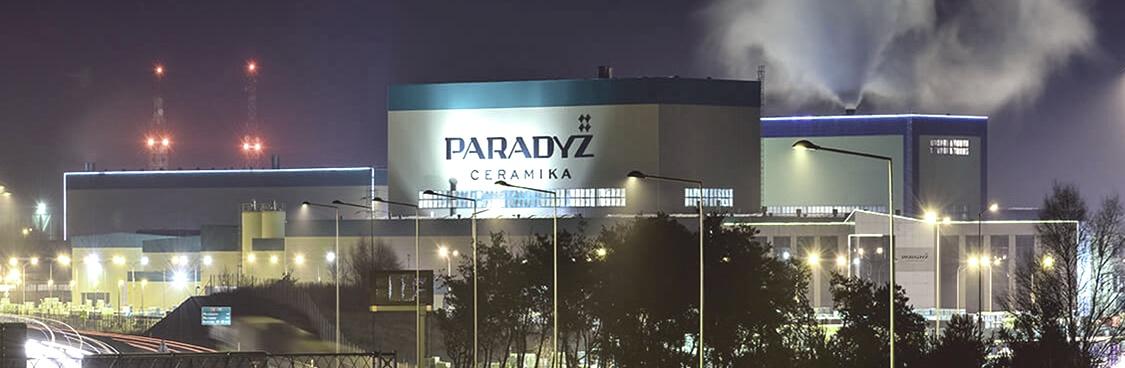 paradyz - завод клинкерной плитки