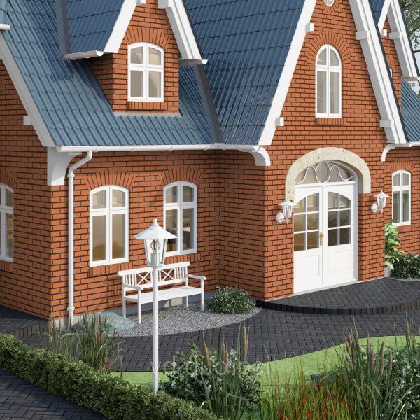 Клинкерные термопанели Feldhaus Klinker R220 terracotta liso
