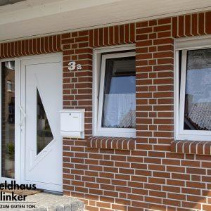 Feldhaus Klinker R400 carmesi liso