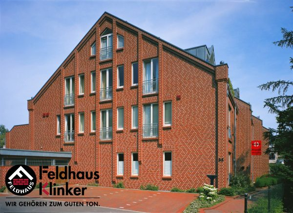 Клинкерные термопанели Feldhaus Klinker R400 carmesi liso