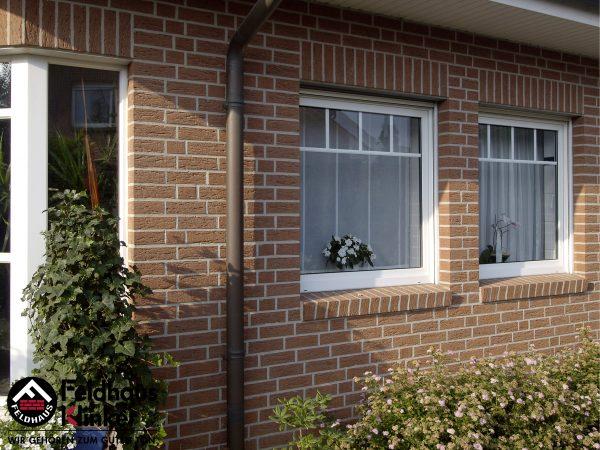 Клинкерные термопанели Feldhaus Klinker R435 carmesi mana