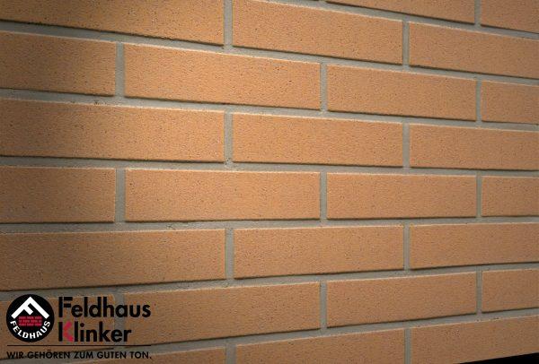 Клинкерные термопанели Feldhaus Klinker 206 Nolani liso rosso