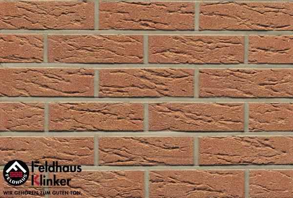 Клинкерные термопанели Feldhaus Klinker R214 bronze mana