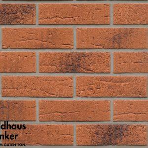 Клинкерные термопанели Feldhaus Klinker 228 terracota rustico carbo