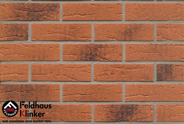 Термопанели Feldhaus Klinker 228 terracota rustico carbo