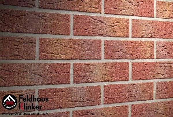 Клинкерные термопанели Feldhaus Klinker 332 carmesi multi mana