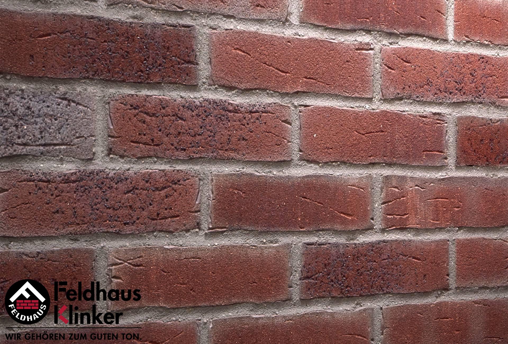 R664 Клинкерная плитка Feldhaus Klinker вид 1