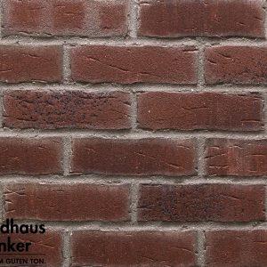 Клинкерные термопанели Feldhaus Klinker 664 sintra cerasi aubergine