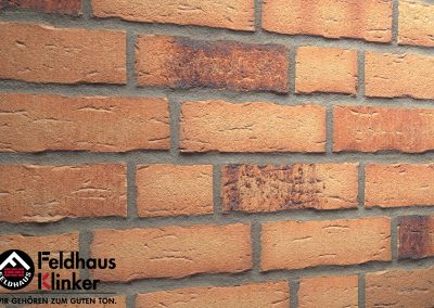 R695 Клинкерная плитка Feldhaus Klinker вид 1