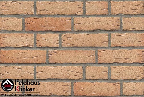 Клинкерные термопанели Feldhaus Klinker R696 sintra crema duna