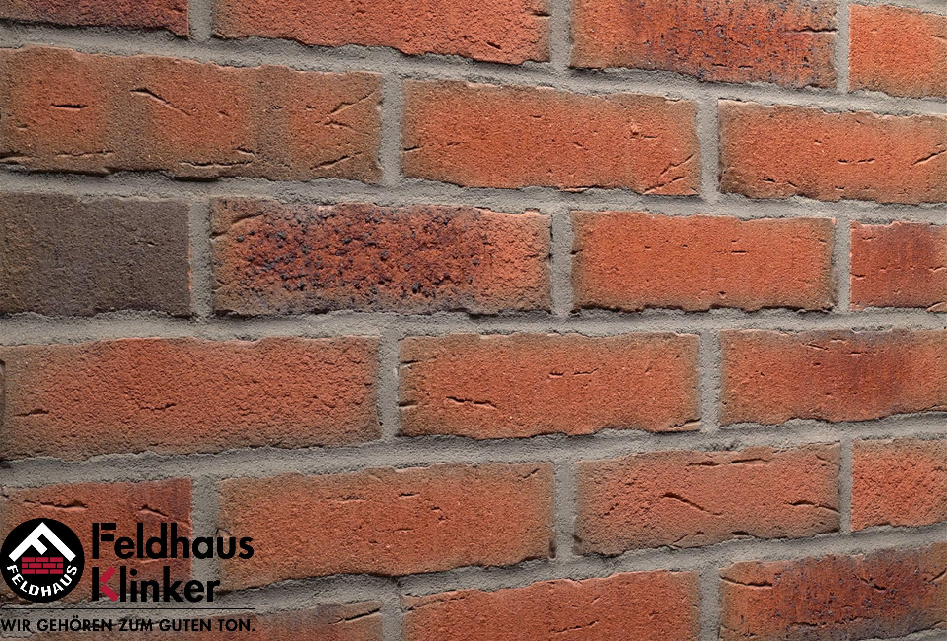 R698 Клинкерная плитка Feldhaus Klinker вид 1