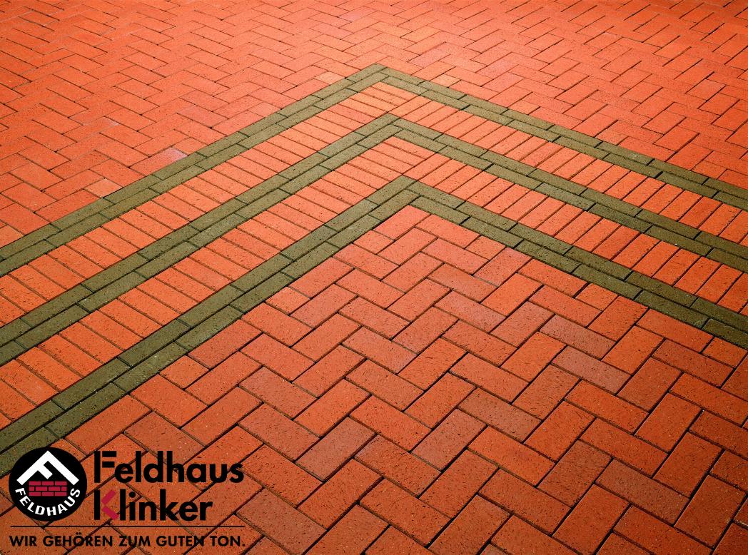 P402 Тротуарная плитка Feldhaus Klinker 10