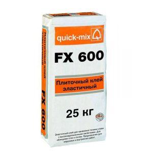 FX 600 эластичный клей для клинкера quick-mix