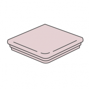 Клинкерная угловая ступень флорентинер ABC Antik Sandstein, 335*335*10 мм