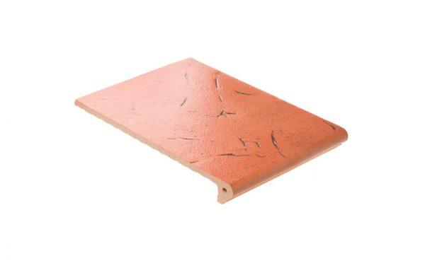 Клинкерная ступень флорентинер ABC Antik Kupfer, 335*240*10 мм