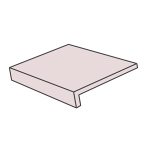 Клинкерная ступень плоская ABC Universal Santorin, 300*310*8 мм