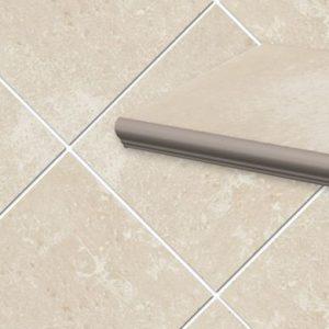 Фронтальная клинкерная ступень с капиносом Paradyz Cotto Crema, 330*299*11 мм