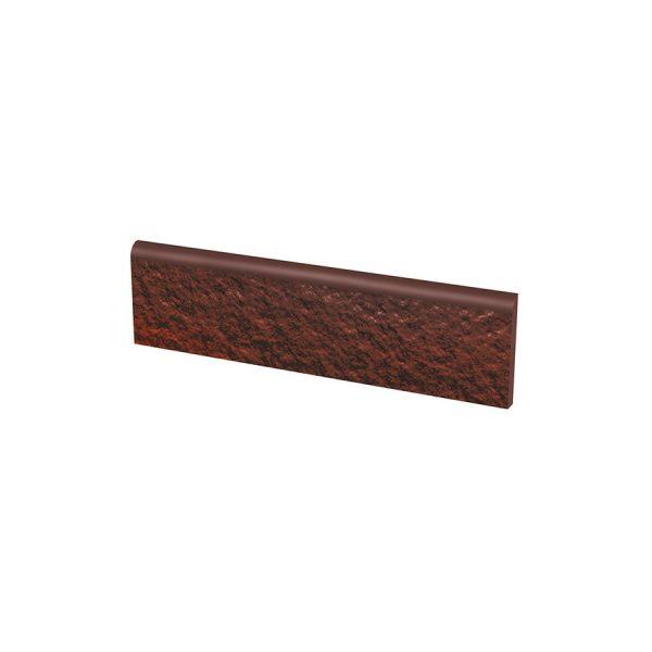 Цоколь структурный Paradyz Cloud Brown Duro, 300*81*11 мм