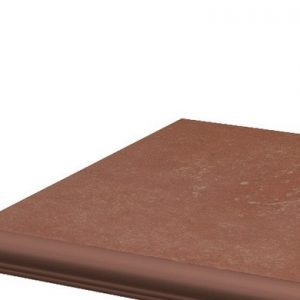 Фронтальная клинкерная ступень с капиносом Paradyz Cotto Naturale, 330*299*11 мм