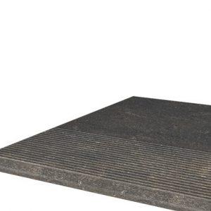 Фронтальная клинкерная ступень простая Paradyz Scandiano Brown, 300*300*11 мм
