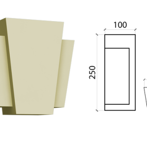 Замковый камень Schlutte ZK-04