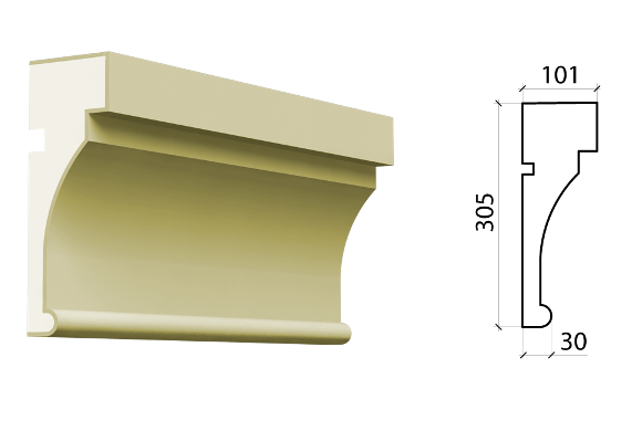Межэтажный пояс Schlutte MPF-544