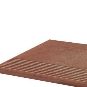 Угловая клинкерная ступень простая Paradyz Cotto Naturale, 300*300*11 мм