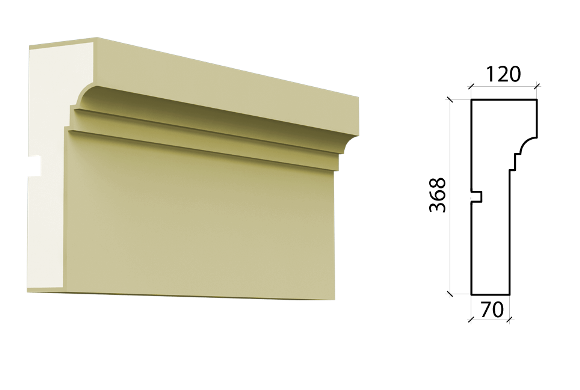 Межэтажный пояс Schlutte MPF-549