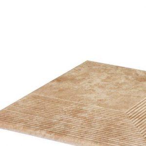 Угловая клинкерная ступень простая Paradyz Ilario Beige, 300*300*11 мм