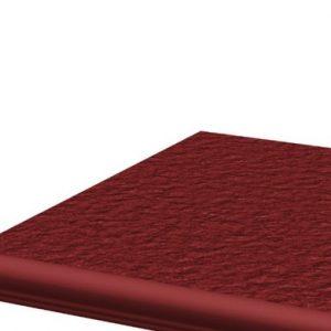 Фронтальная клинкерная ступень с капиносом Paradyz Natural Rosa Duro, 330*299*11 мм