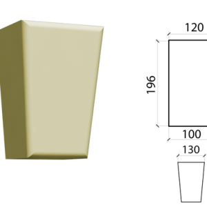 Замковый камень Schlutte ZK-02