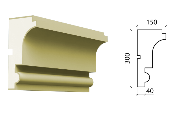 Межэтажный пояс Schlutte MPF-543