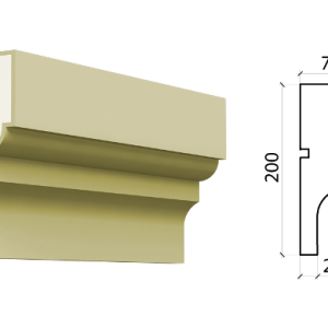 Межэтажный пояс Schlutte MPF-509