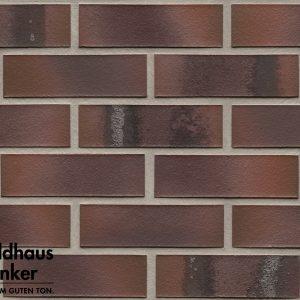 Клинкерные термопанели Feldhaus Klinker R561 carbona carmesi maritimo