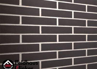 Feldhaus Klinker R700 Anthracit Liso 1