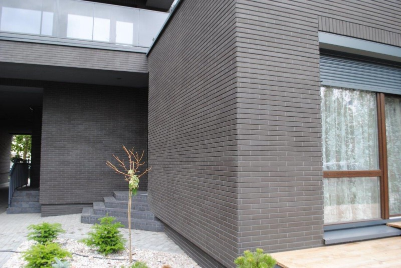Feldhaus Klinker R700 Anthracit Liso 12