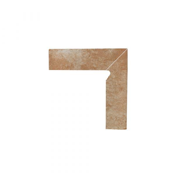 Цоколь структурный правый Paradyz Ilario Ochra, 300*81*11 мм