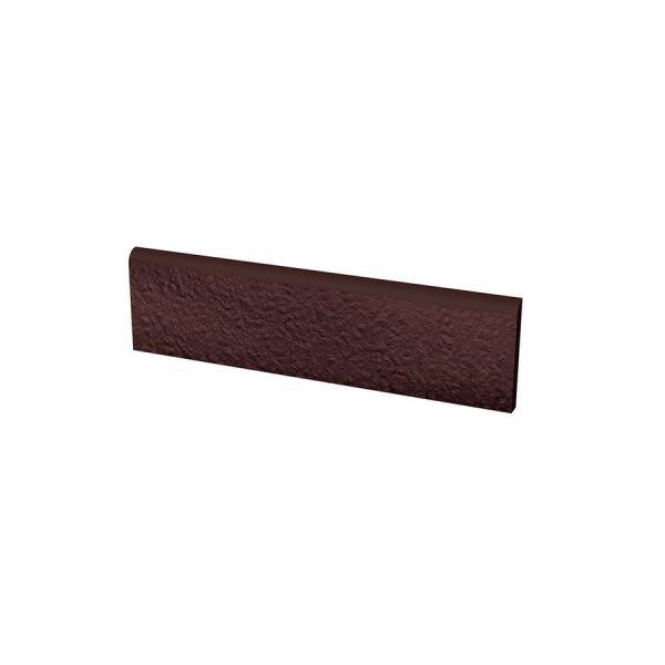Цоколь структурный Paradyz Natural Brown Duro, 300*81*11 мм