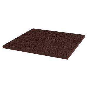 Напольная клинкерная плитка Paradyz Natural Brown Duro, 300*300*11 мм