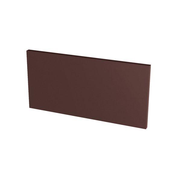 Подступенник гладкий Paradyz Natural Brown, 300*148*11 мм