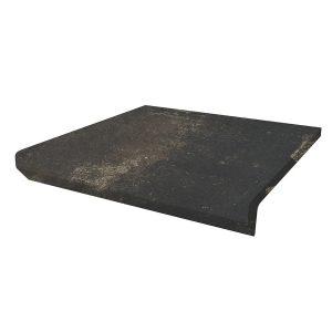 Фронтальная клинкерная ступень с капиносом Paradyz Scandiano Brown, 330*299*11 мм