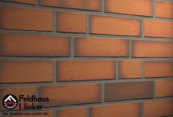 Клинкерные термопанели Feldhaus Klinker R718 accudo terracotta
