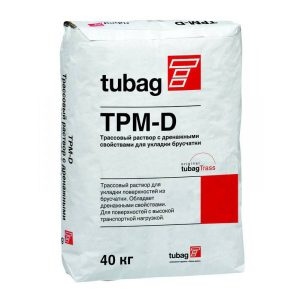 TPM-D4 Трассовый раствор с дренажными свойствами quick-mix